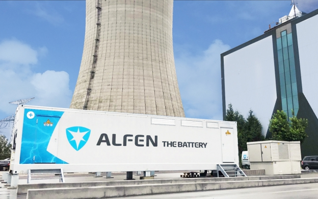 First FCR energy storage in Belgium