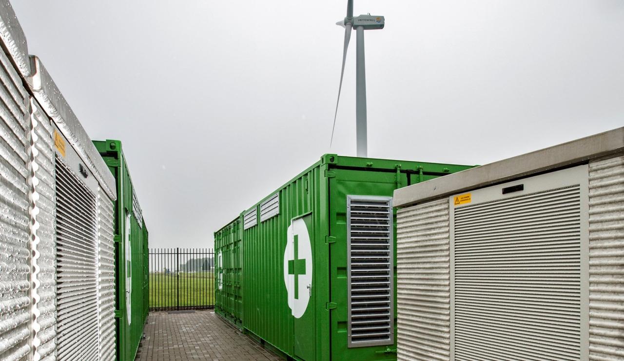 3MW energy storage for Nuon