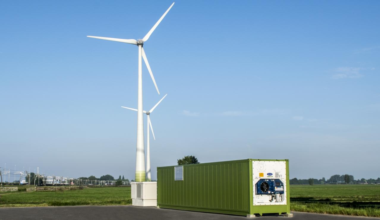 Energy storage Scholt and Giessenwind